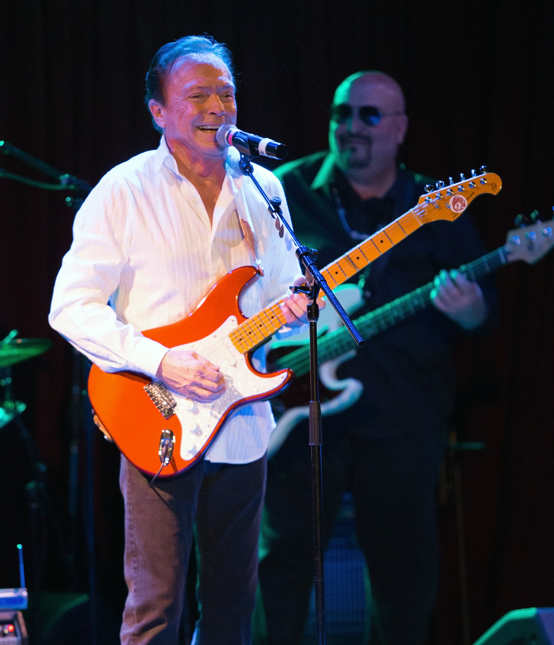 David Cassidy performs a sold out show at B.B. King Blues Club & Grill despite feeling unwell with Laryngitis                                    Featuring: David Cassidy                  Where: New York, New York, United States                  When: 04 Mar 2017                  Credit: WENN.com