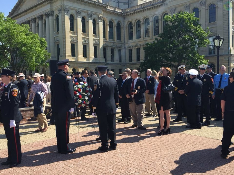 Tuesday morning, firefighters from across the state came together to honor those who made the ultimate sacrifice. (WRSP)