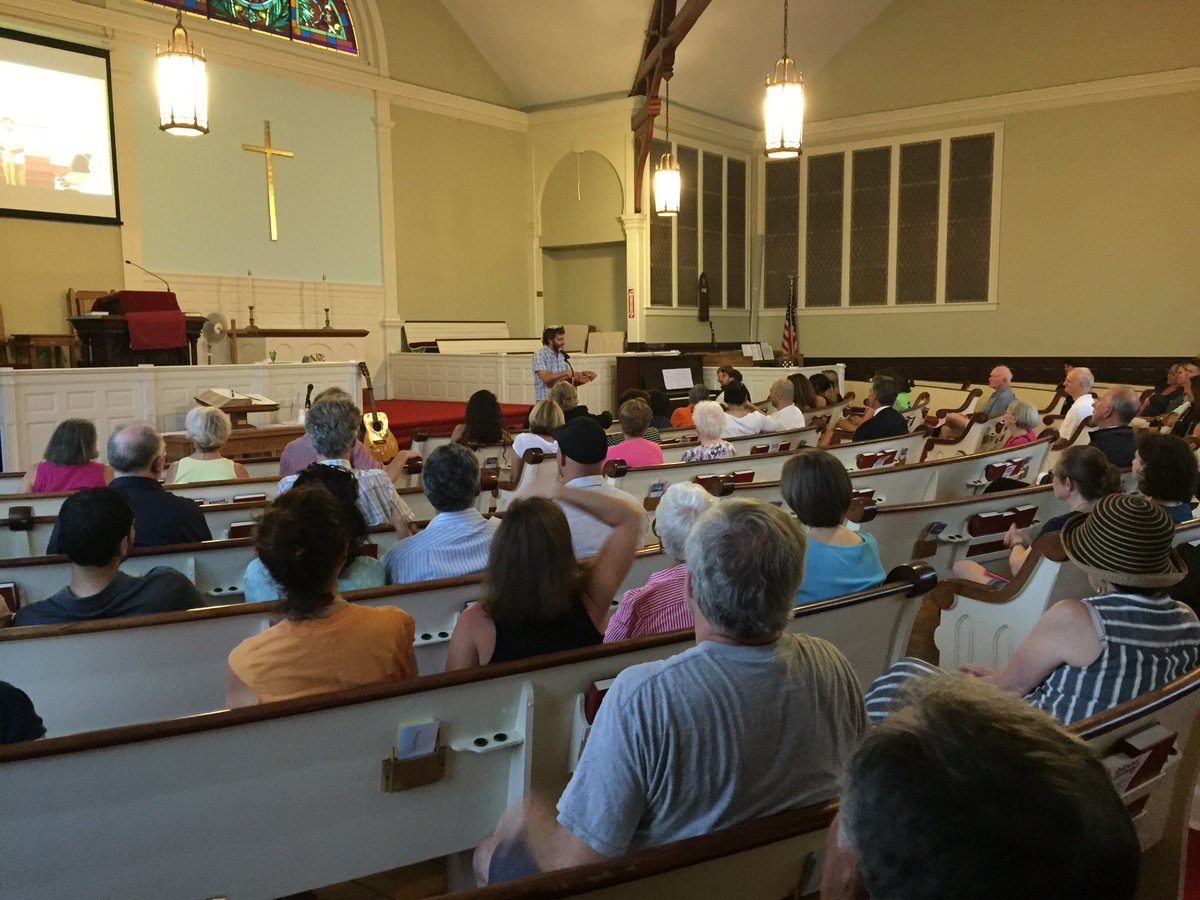 "A ""Vigil for Peace"" was held at an East Greenwich church Monday, July 18, 2016. (WJAR)"