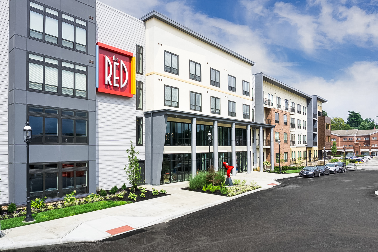 The RED Apartments are a new living community in Madisonville that tout an unprecedented list of amenities. In addition to studio, 1-bedroom, and 2-bedroom apartments, RED offers communal spaces that add tremendous value to residents' monthly rent. With community as a core concept, RED's ability to facilitate events, live music, pool parties, and more make it stand out from other apartments in Cincinnati. ADDRESS: 5110 Herringbone Drive (45227) / Image courtesy of the RED Apartments // Published: 10.16.18