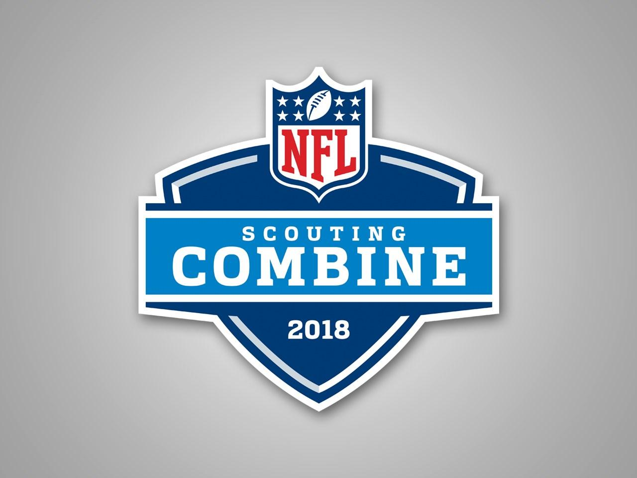 The NFL Draft Scouting Combine 2018 logo (Credit: MGN).
