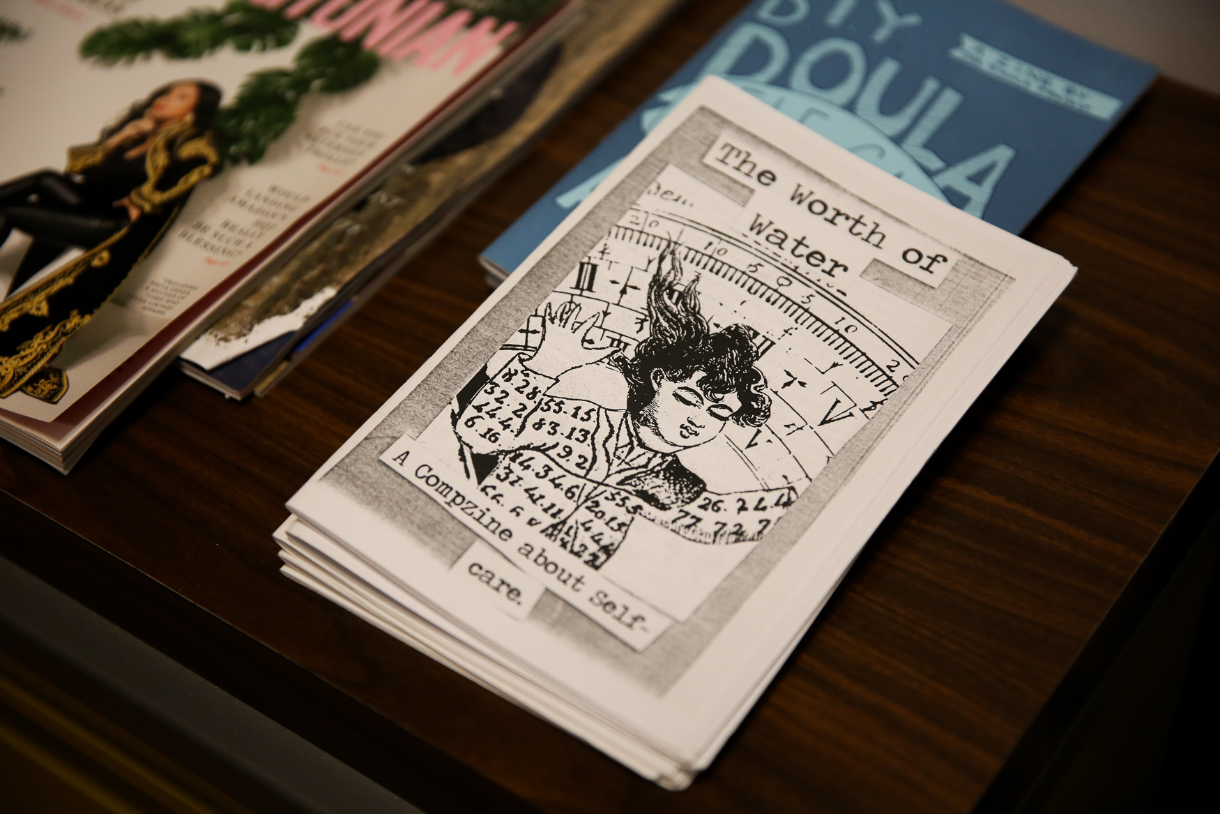 Eaton offers a Newsstand, which features local zines and foreign publications. (Amanda Andrade-Rhoades/DC Refined)