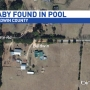 Authorities investigating after baby found in pool