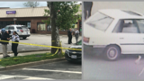 3 men shot outside of strip mall in Southeast D.C.; photo released of car in incident