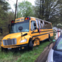 Police: 83-year-old bus driver charged after crash that sent 10 juveniles to hospital
