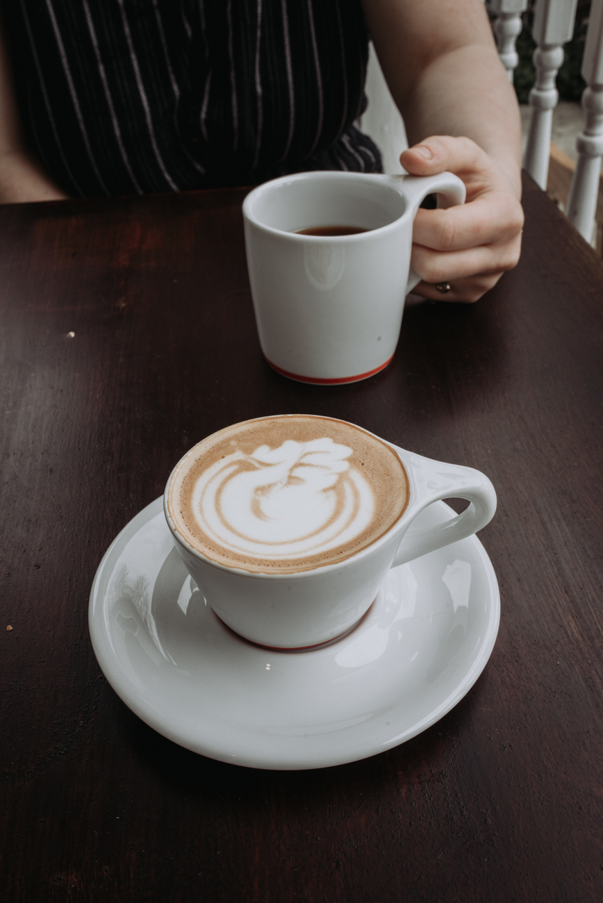 Latte made with Intelligentsia Coffee / Image: Brianna Long // Published 5.24.18<br>