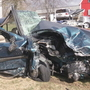 Driver suffers apparent overdose before head-on crash