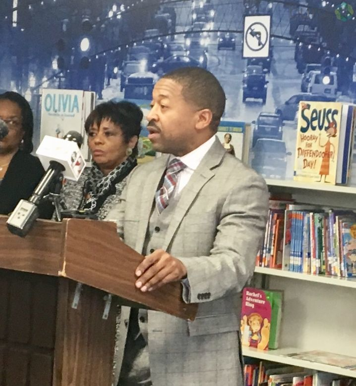 A new initiative called 'Extra Extra Read All About It' designed to get people in Flint to read was launched Wednesday to get residents engaged in year-round reading.  (Photo: WEYI/WSMH)