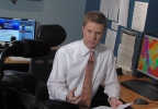Meteorologist Scott Dimmich During March 2, 2012 Severe Weather Coverage.jpg