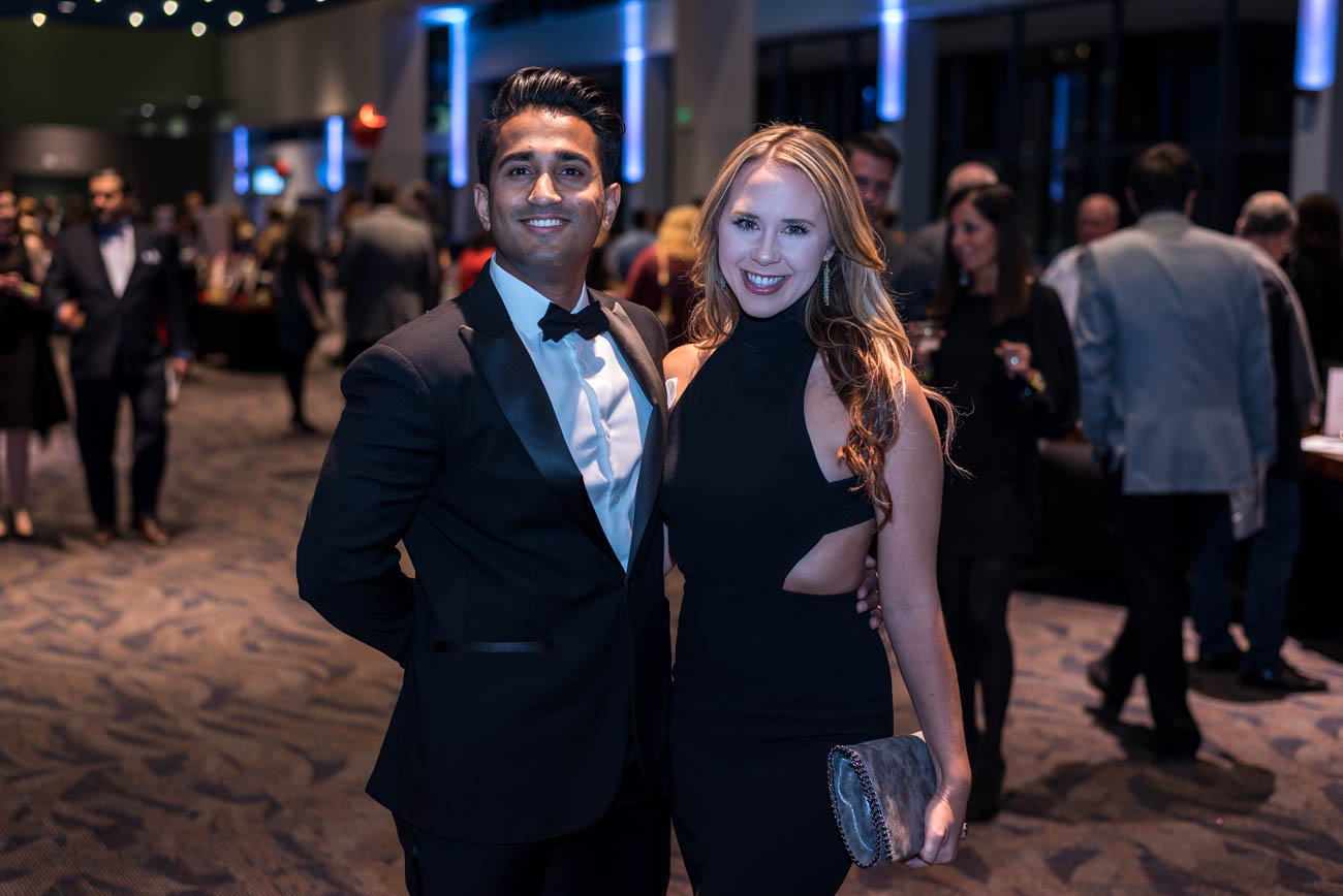 People: Joseph Chowallur and Andrea Scherack / Event: JDRF's Bourbon and BowTie Bash (11.10.17) / Image: Mike Menke / Published: 12.1.17