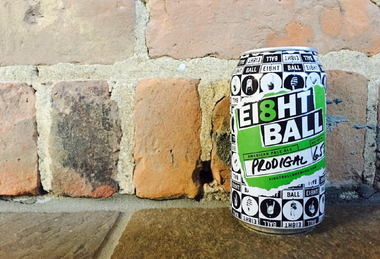 PRODIGAL by Eight Ball Brewery / If you want hops heaved on hops, this is the beer. Very strong stuff. / Image courtesy of Eight Ball Brewery // Published: 1.10.17