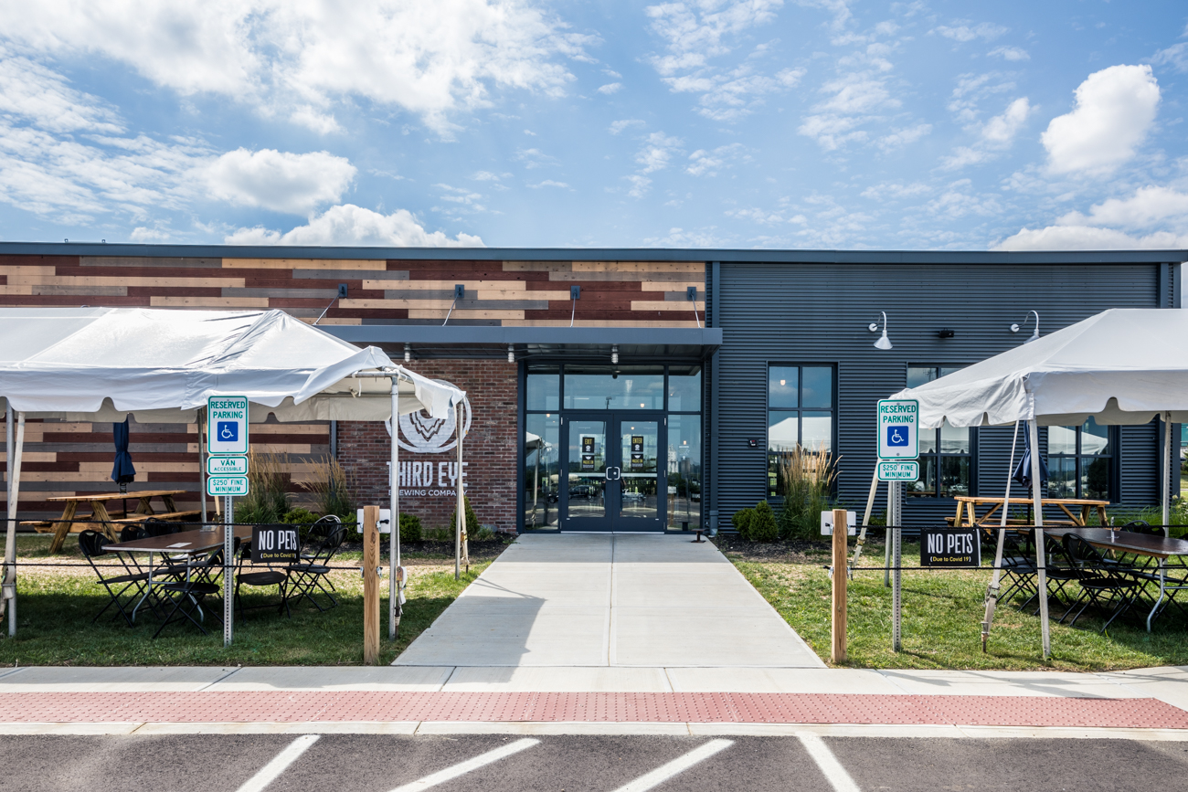 Third Eye Brewing Company opened in the Northern Lights District of Sharonville in June 2020. The owners have over 20 years of experience crafting beers for friends and family and wanted a welcoming and relaxing space to share their brews. The brewery features a large and open taproom, a covered patio that's open year-round, outdoor seating surrounding the building, and a rooftop patio. ADDRESS: 11276 Chester Road (45246) / Image: Catherine Viox // Published: 9.12.20