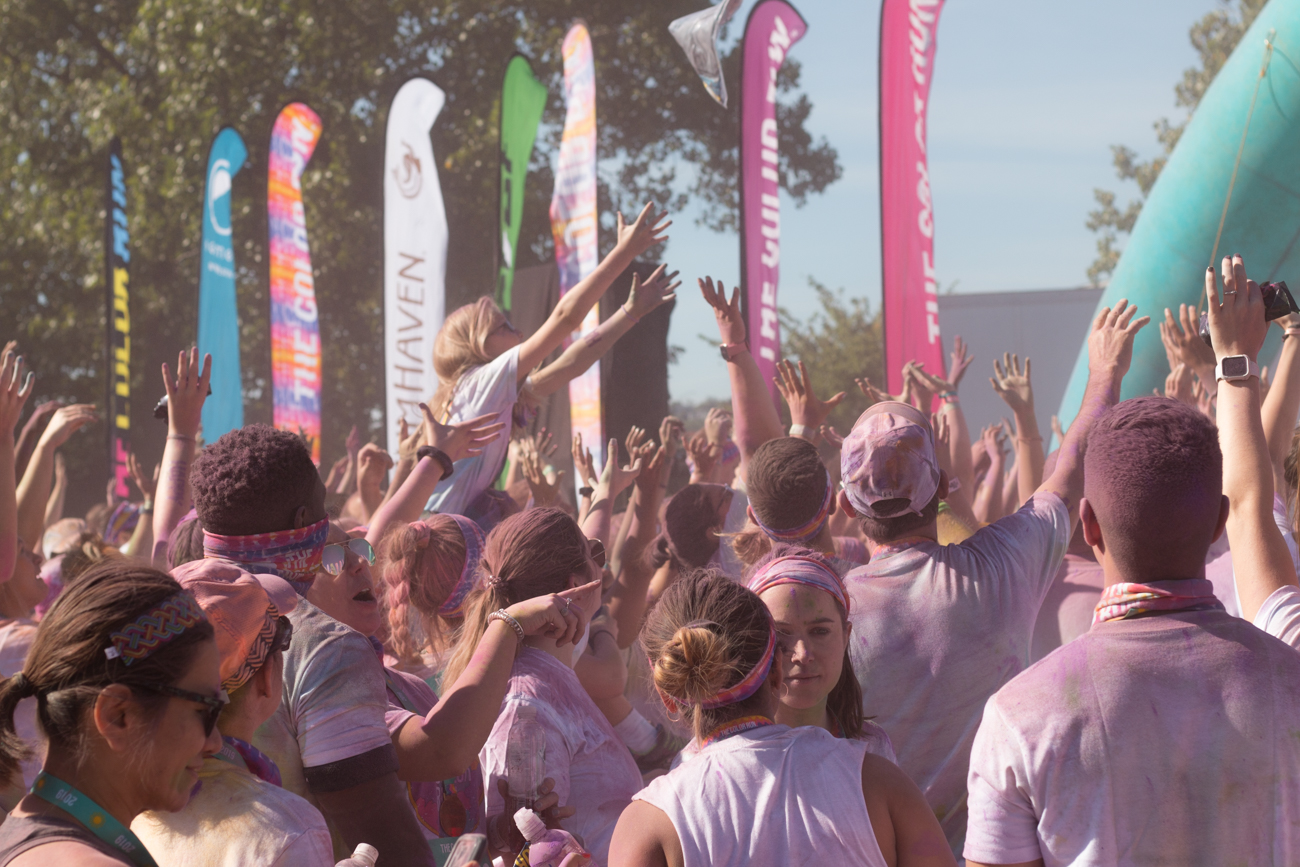 The 2019 Color Run was held on Saturday, August 24 on the riverfront. Thousands participated in the untimed 5K that features an explosion of celebratory, colorful dust after crossing the finish line. The race is held annually in Cincinnati and around the country. / Image: Lacey Keith // Published: 8.25.19