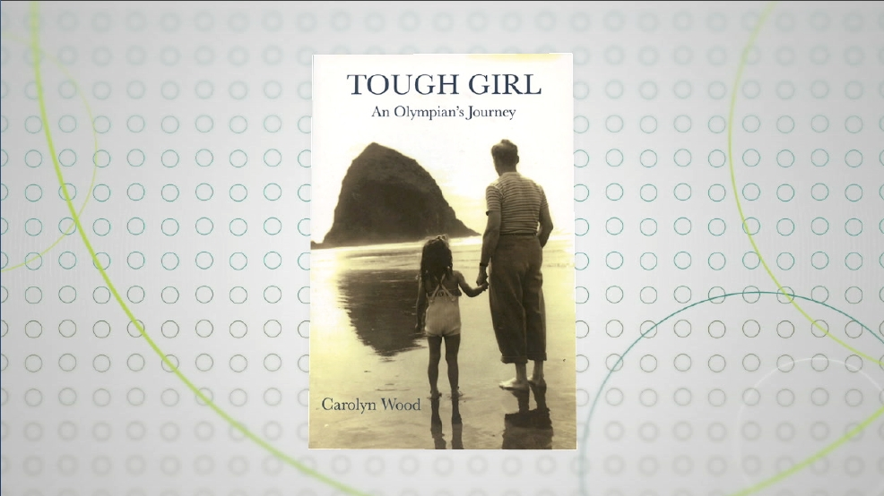"Local Olympian and ""Tough Girl"" author, Carolyn Wood"