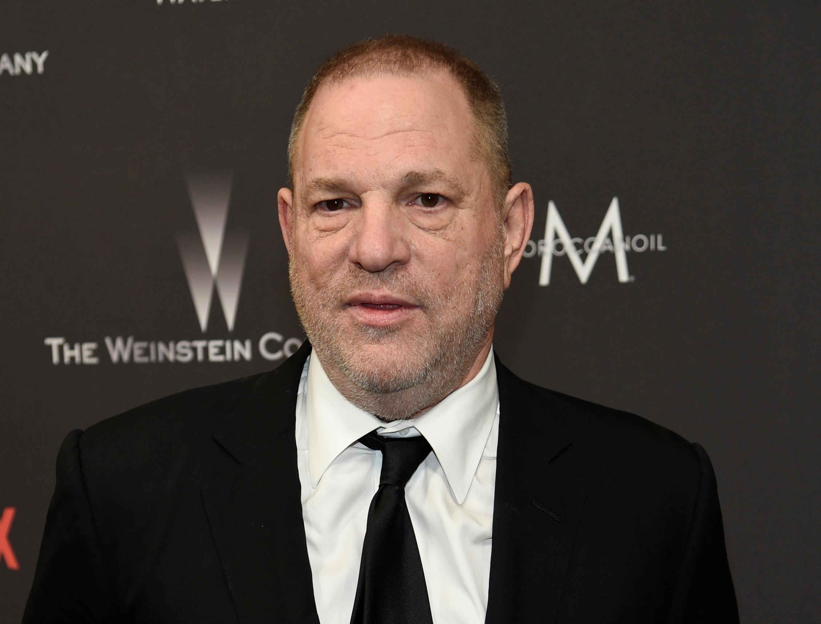 "FILE - In this Jan. 8, 2017, file photo, Harvey Weinstein arrives at The Weinstein Company and Netflix Golden Globes afterparty in Beverly Hills, Calif. With thousands of women embracing the ""Me Too"" movement to own their histories of sexual harassment and abuse, and those issues swirling at high volume in the culture overall, parents are reaching for teachable moments in the post-Weinstein world. (Photo by Chris Pizzello/Invision/AP, File)"