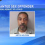 Authorities seeking sex offender convicted of assaulting 11-year-old girl