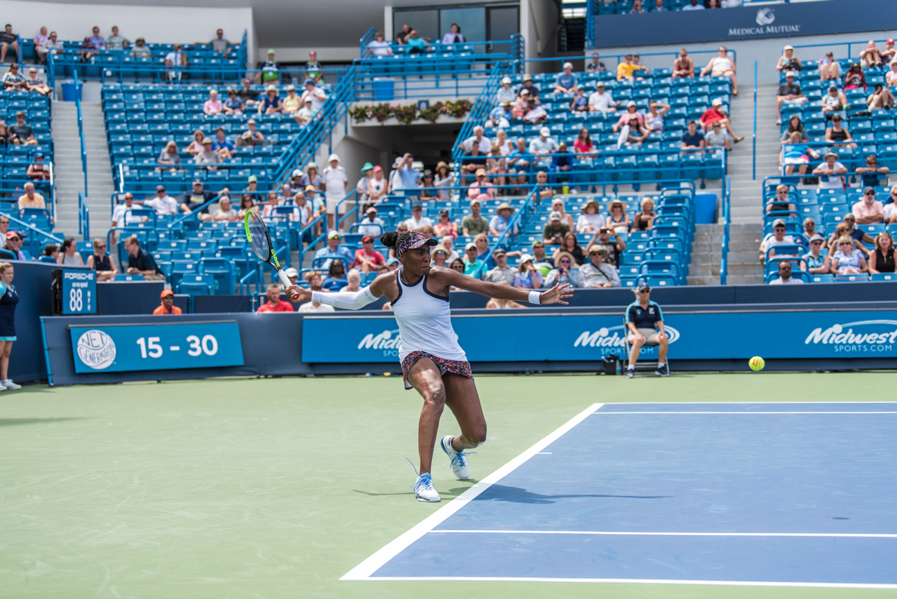 Venus Williams{ }/ Image: Mike Menke{ }// Published: 8.14.19