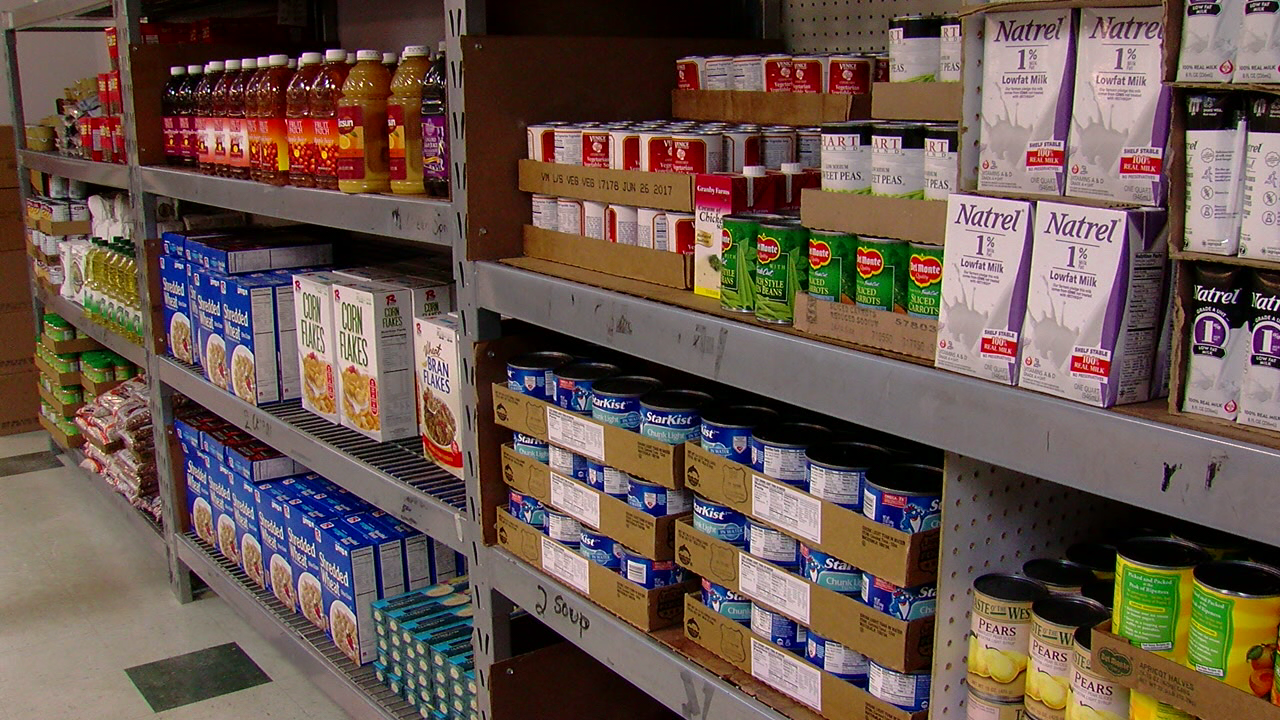 Food pantry also offers everyday items for adults and a  toy store to provide Christmas for kids in need (WKRC)