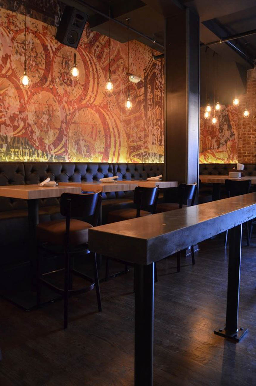 "PLACE: Bakersfield OTR / ADDRESS: 1213 Vine Street (OTR) / EPISODE: Season 21, Episode 6: ""One Street Wonders"" / Get a little tipsy on your next Taco Tuesday with the expansive selection of tequila and craft cocktails at Bakersfield OTR. Then, be like Guy and round out your night with the braised short rib tacos on house-made tortillas or the Milanesa Torta with chicken and black bean spread. / Image: Katie Dobbs // Published: 8.18.19"