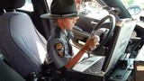 Honorary trooper visits OSP post in Springfield