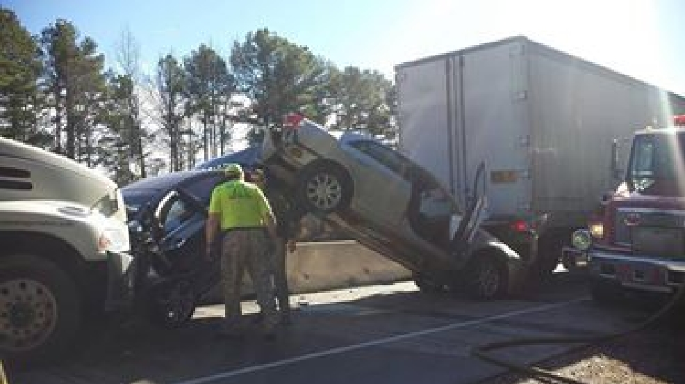 I 30 Lanes Reopened After Multiple Vehicle Accident Katv