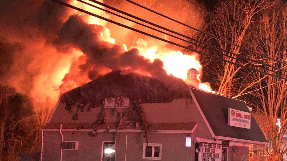 Fire destroys Bolen's Bull Pen in Carroll County | WBFF