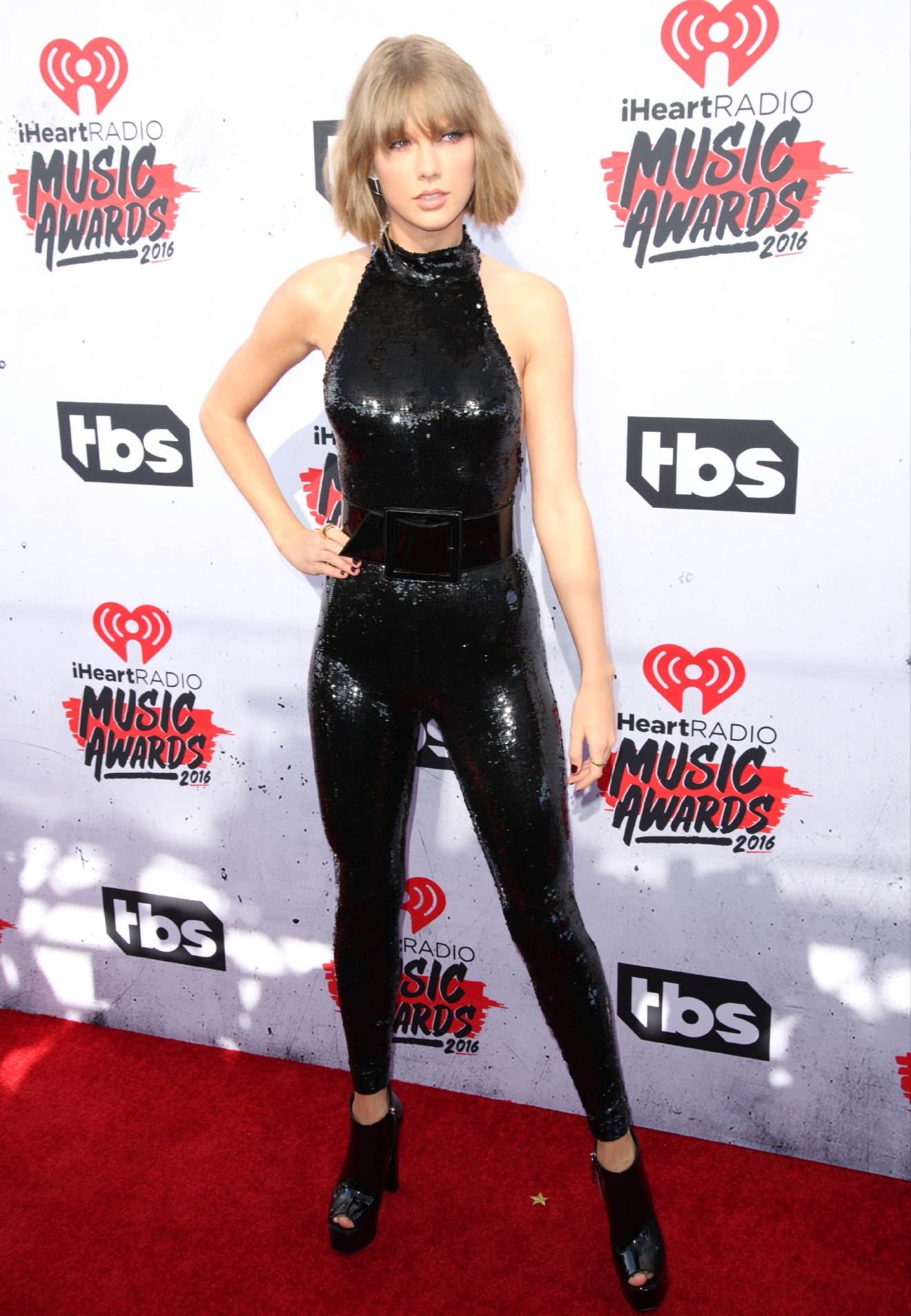 Celebrities attend iHeartRadio Music Awards at The Forum on April 4, 2016. (Brian To/WENN.com)