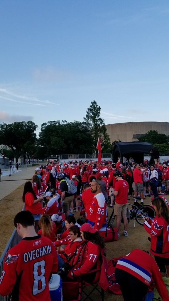 Capitals' Stanley Cup victory parade taking over D.C. (Photo, Josh Mason){ }