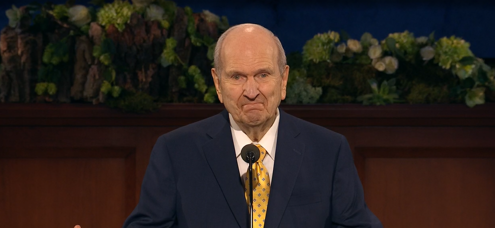 Photo of Russell M. Nelson, current president of The Church of Jesus Christ of Latter-day Saints. (Photo: KUTV)
