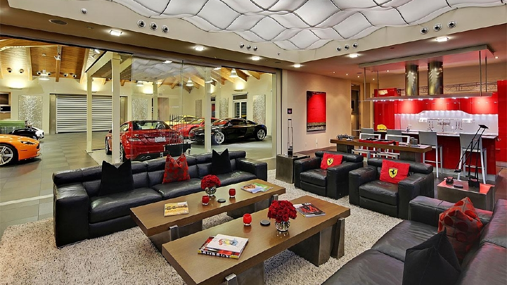 The 4 million dream house for a car collector seattle for Homes with big garages for sale