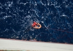 Photos capture Nathan Carman's rescue at sea