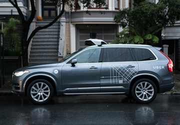 Self-driving Uber SUV struck during Arizona accident