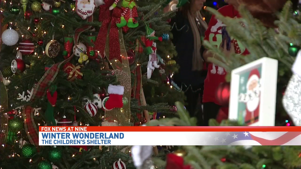 Annual Winter Wonderland Brings Holiday Cheer To Childrens Shelter