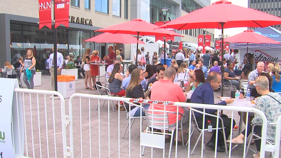 Rochester, NY food trucks feel the muscle of downtown food festival