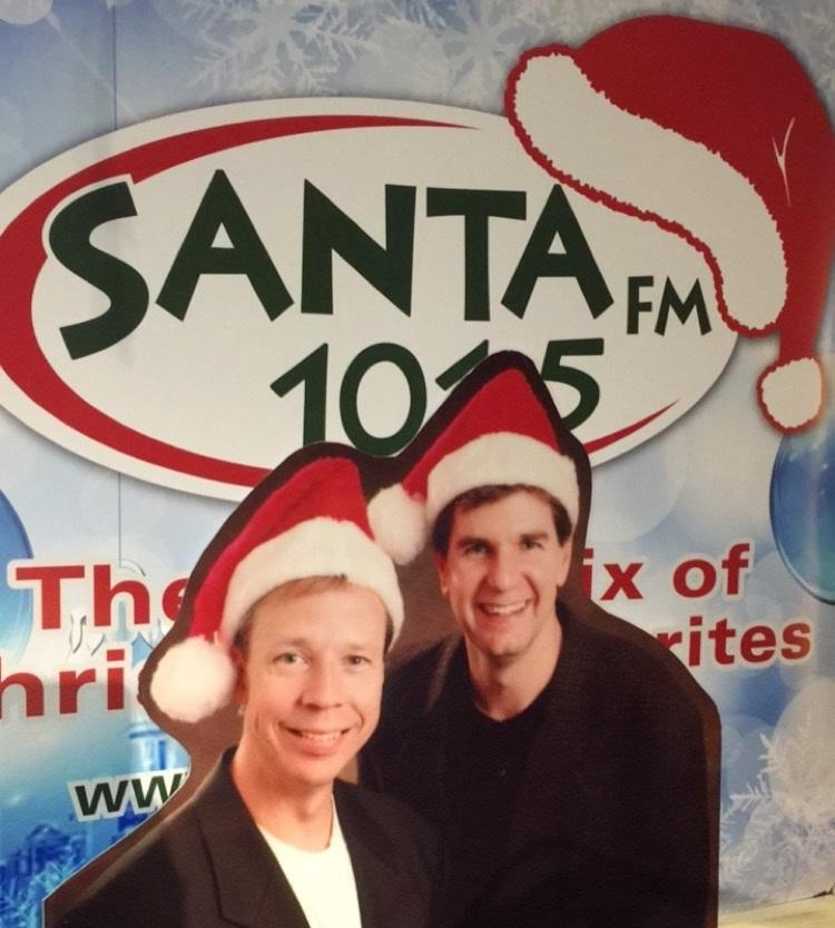 This morning at 9 a.m. our sister radio station, STAR 101.5 decked the radio airwaves with boughs of Christmas music as 101.5 SANTA FM officially began! (Image: Hailey Helber / STAR 101.5).