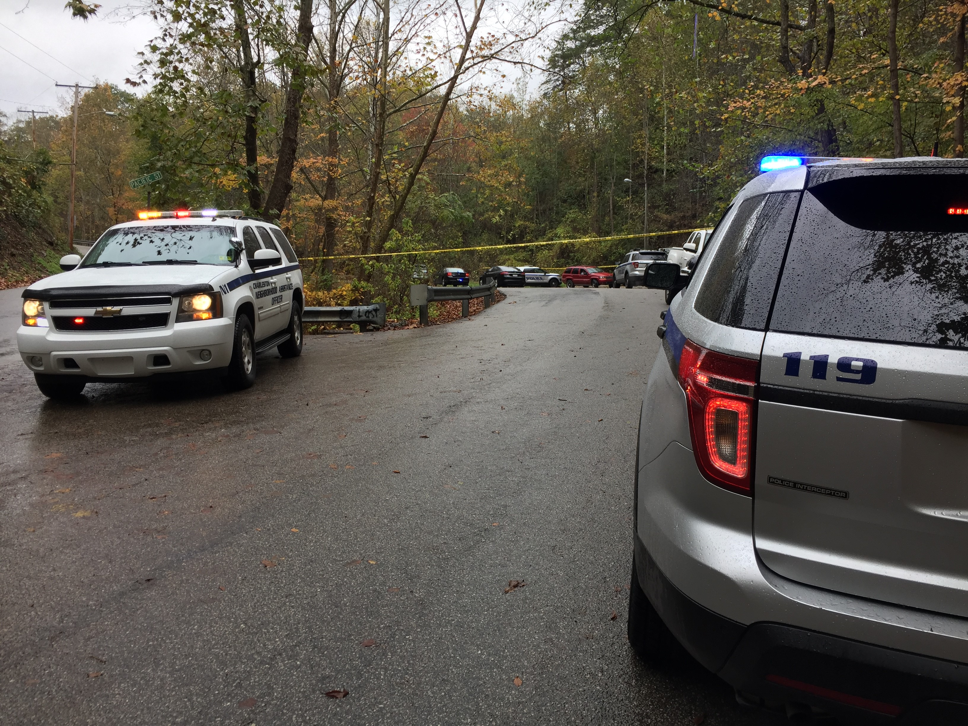 Police are investigating after a dead body was found between Pacific Street and Garrison Avenue. (WCHS/WVAH)<p></p>