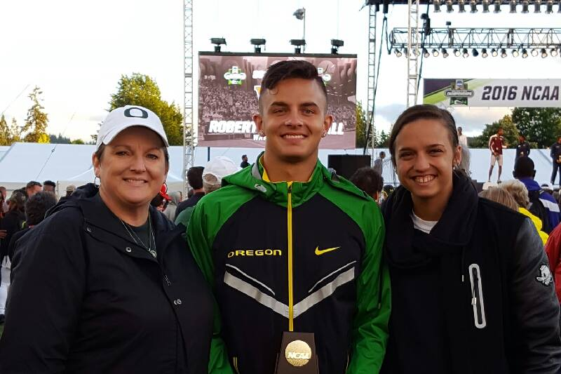 Joey Knudson, her son Devon Allen and daugher Carissa (Photo courtesy Joey Knudson)