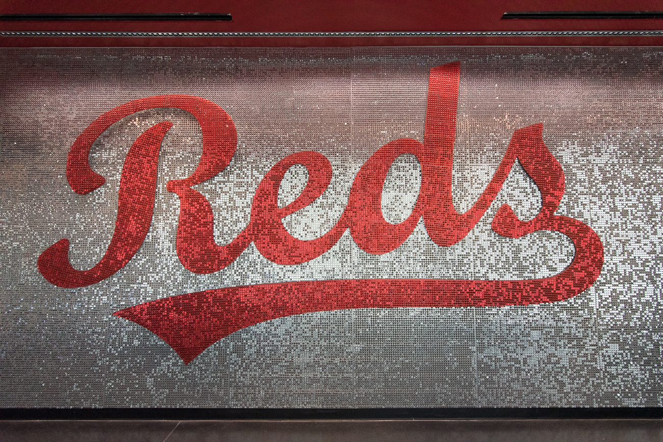 Go Reds! / Image: Phil Armstrong, Cincinnati Refined // Published: 4.20.19