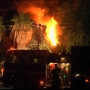 A man escapes a burning house says home was part of Beaumont history