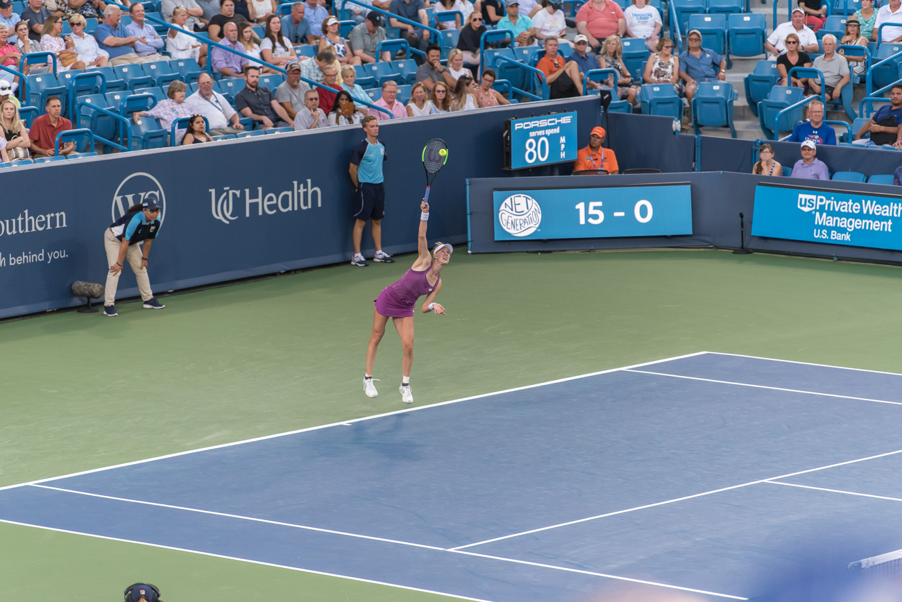 Alison Riske / Image: Mike Menke{ }// Published: 8.14.19