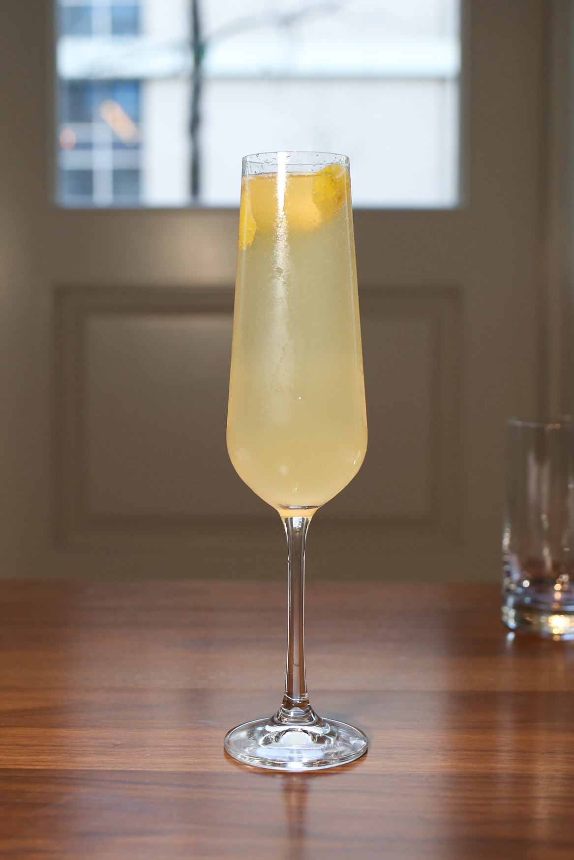 There are plenty of booze options for Restaurant Week, but the American 75 at The Delegate stood out for its effervescence and citrusy tang.{ }(Amanda Andrade-Rhoades/DC Refined)