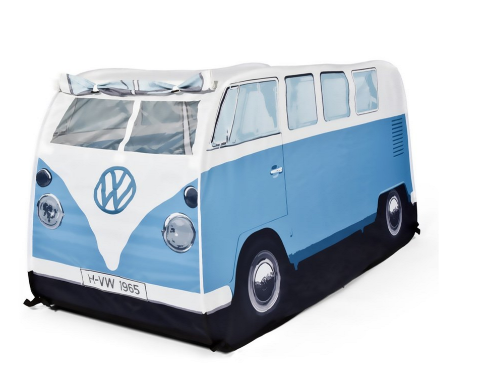 THE MONSTER FACTORY 'VW Camper Van' Waterproof Play Tent ($60.00). Find on nordstrom.com. (Image courtesy of Nordstrom)