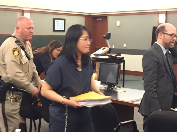 Michelle Paet sentenced to life without parole (Denise Rosch/KSNV)