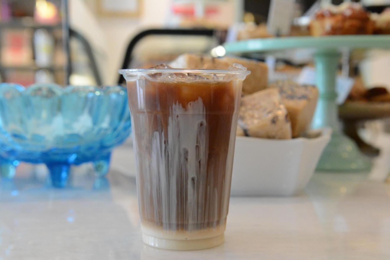 Now through June 24,{ }Ritual, an order-ahead food app, is offering $1 iced coffees. (Image: Laura Hayes)