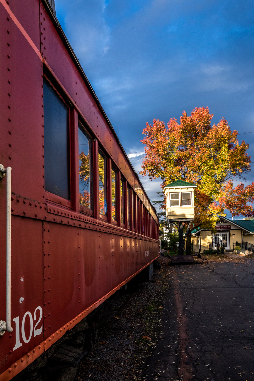 Some of the rides typically offered by the LM&M Railroad include the educational Turtle Creek Valley Flyer ride around Warren County, a night out on the Wine & Cheese Train, a Rent the Caboose option for small private parties, and seasonally themed rides throughout the year. / Image: Catherine Viox // Published: 11.11.20