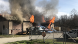 Firefighter hurt in Elkton building fire with 'explosions'