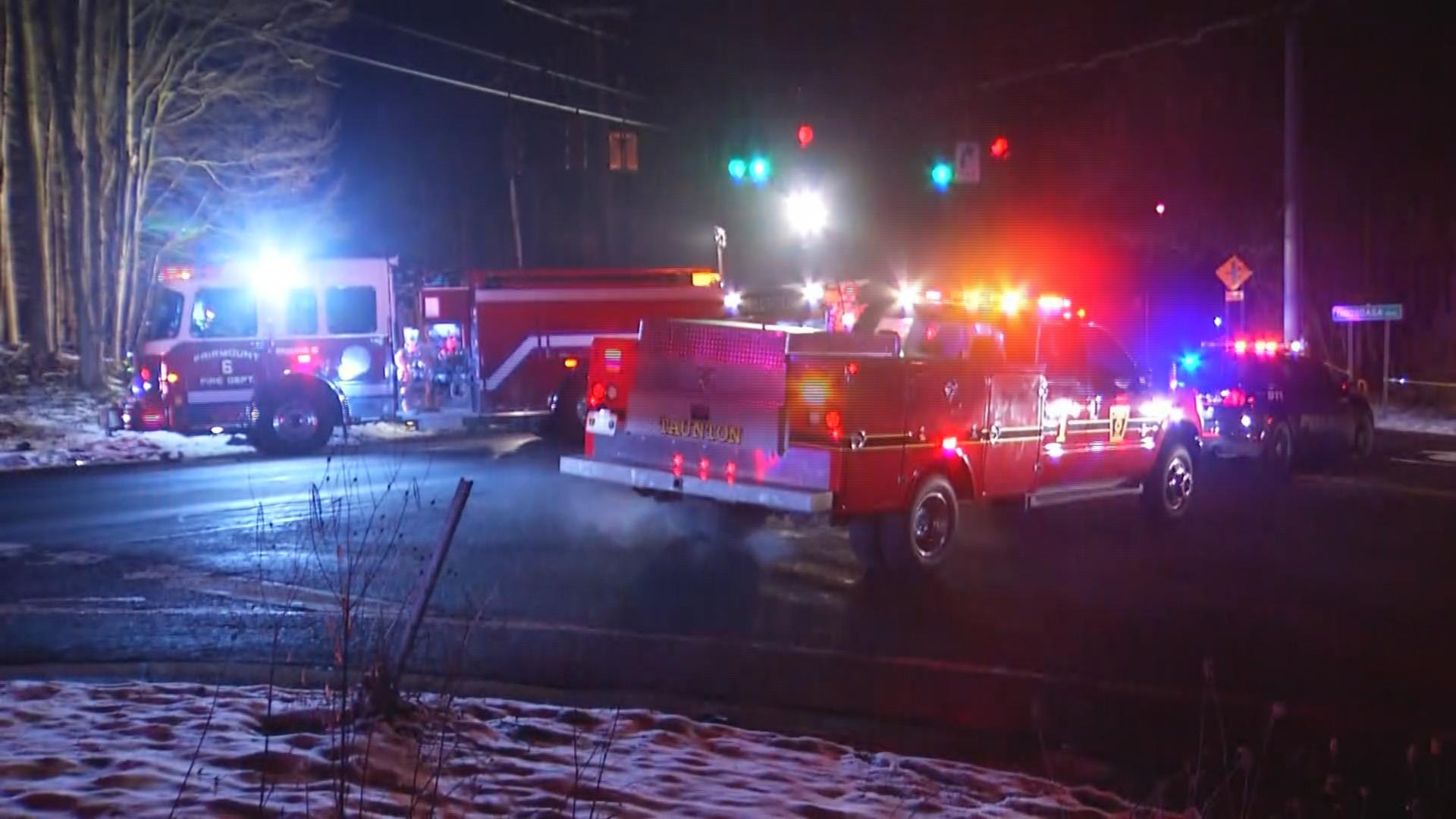 Multiple emergency crews responded to the scene at the intersection of Onondaga Boulevard and Onondaga Road at 3:40 a.m. Friday.<p></p>