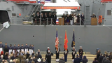 WATCH: Navy commissions USS Ralph Johnson in Charleston, SC