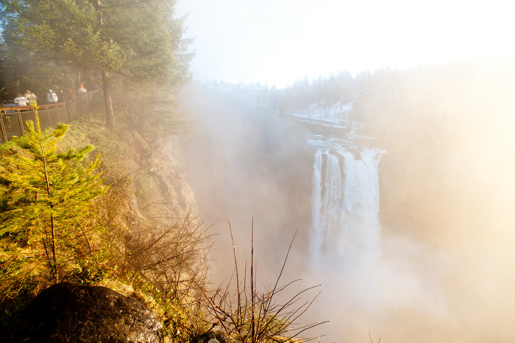 Snoqualmie Falls: This one is a freebie. Check out this title sequence and say no more. (Image: Photo: Chona Kasinger / Seattle Refined)<p></p>