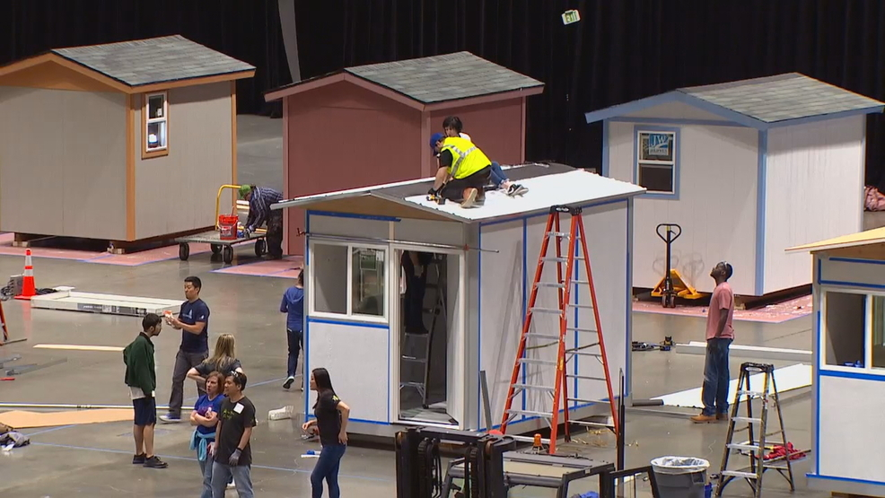 Tiny Home Designs: Volunteers Build Dozens Of 'tiny Homes' For Seattle's